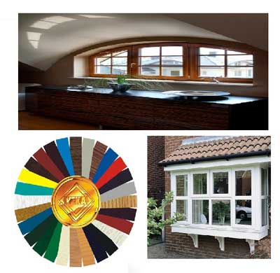 Veka windows in practice plus color choice