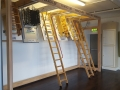 Loft ladders display