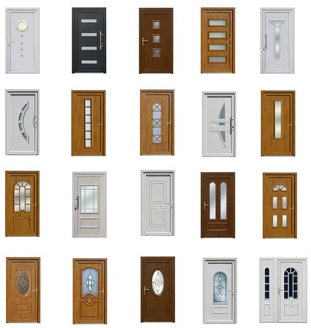 Door profile types and designs