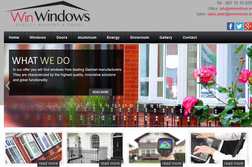WinWindows home page